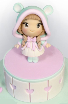 №48 Торт «Девочка в капюшоне с ушками»