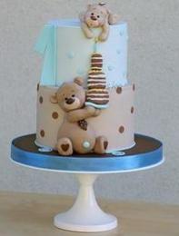 №44 Торт «Мишки с тортиком»